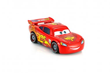 Lightning McQueen main protagonist of the Disney Pixar feature f