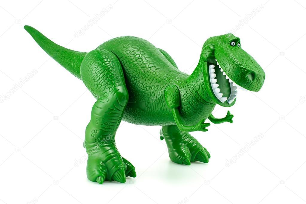 Rex le caract re de jouets de dinosaure vert de fi d 39 animation toy story photo ditoriale - Dinosaure toy story ...