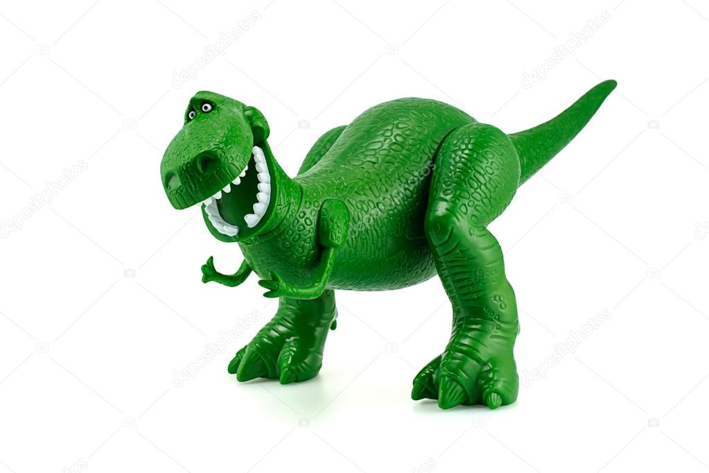 Rex the green dinosaur toy character from toy story animation fi stock editorial photo - Dinosaure toy story ...