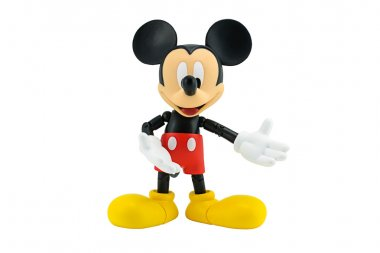 Mickey mouse action figure from Disney character.