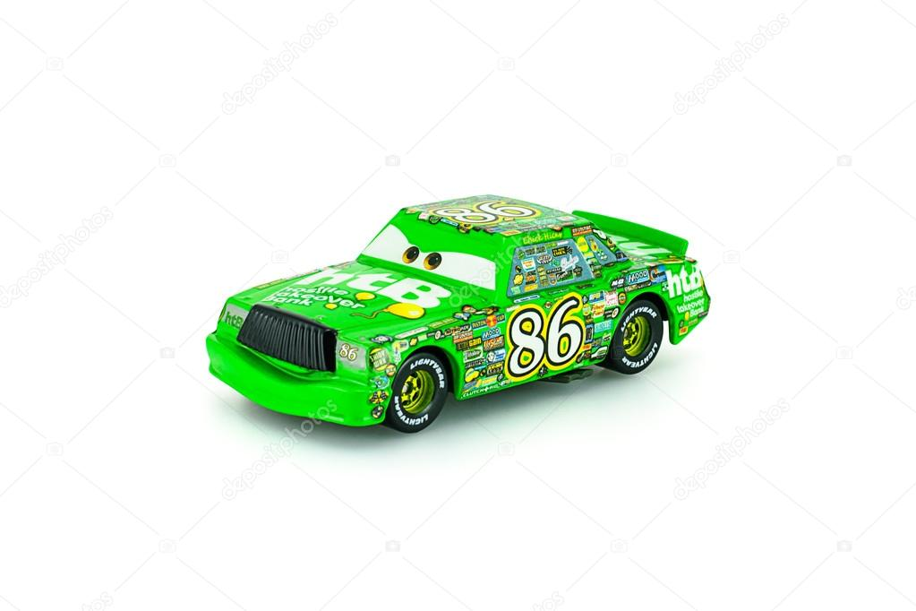 Chick Hicks character of the Disney Pixar feature film Cars.