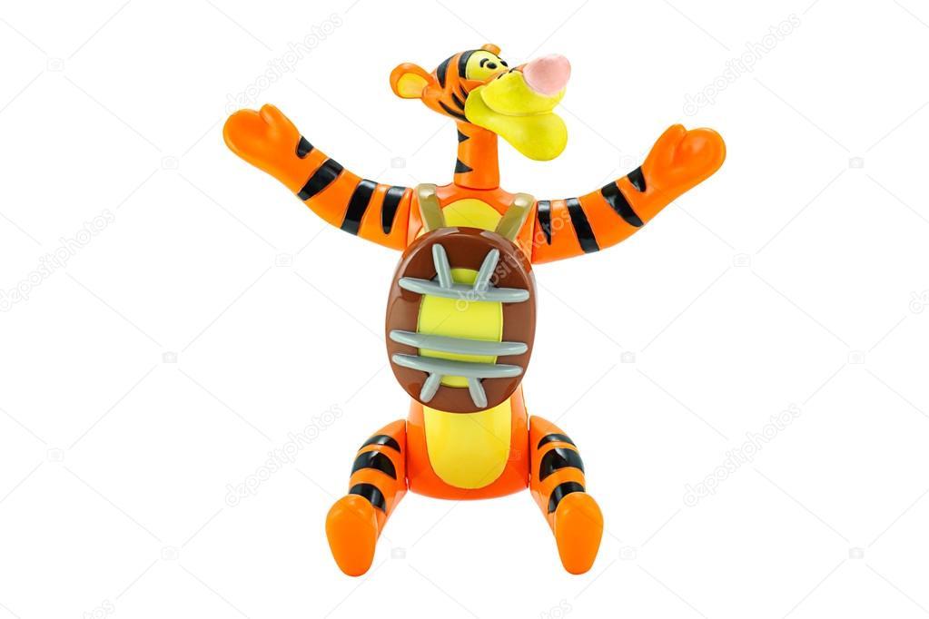 Tigger tigre giocattolo personaggio da cartone animato