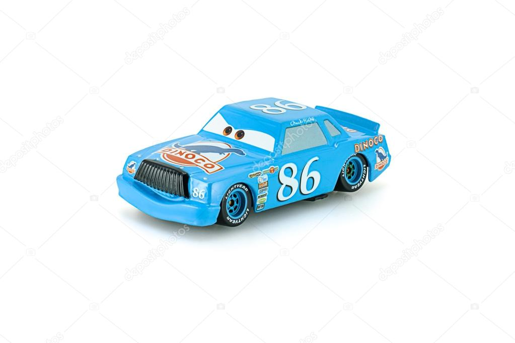 Tongue Lighting Mcqueen toy car a protagonist of the Disney Pixa