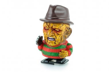 Freddy Krueger wind up toy characters from a nightmare on elm st
