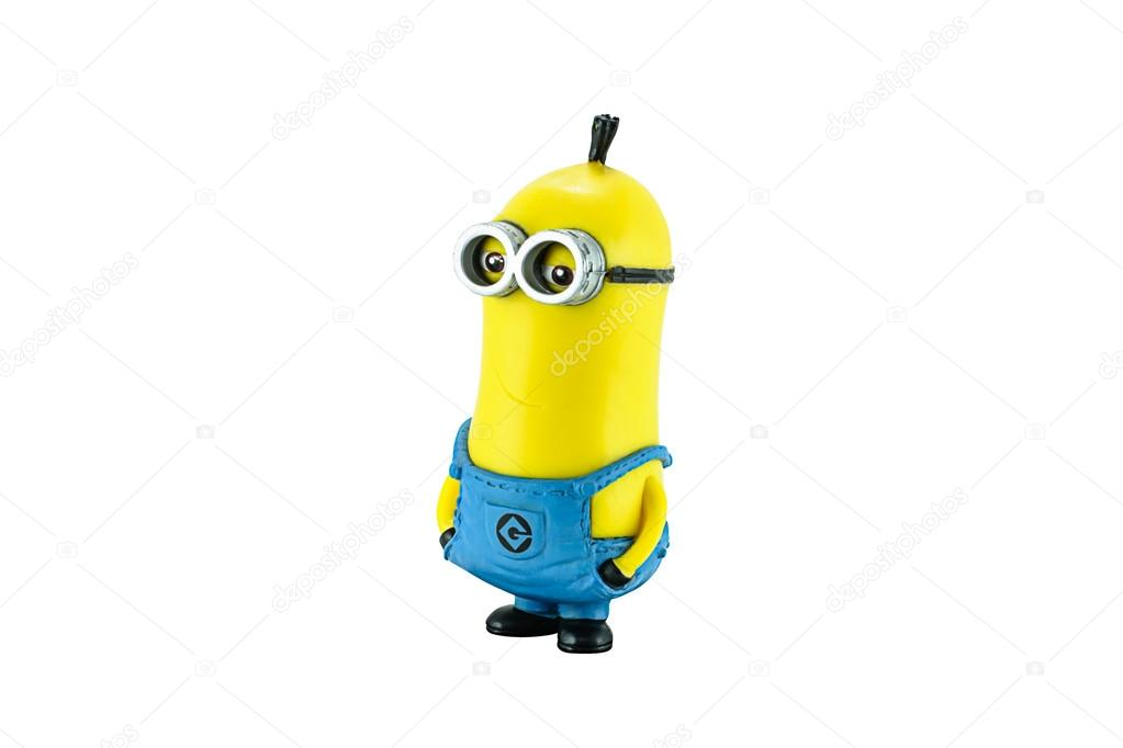 Minion tim figure toy character from Dispicable Me animation mov