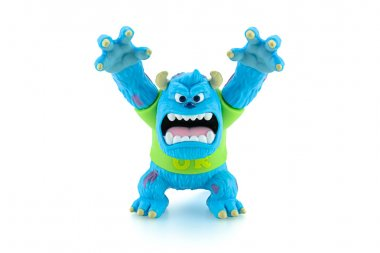 Scarers James P. Sullivan Sulley figure toy character from Monst