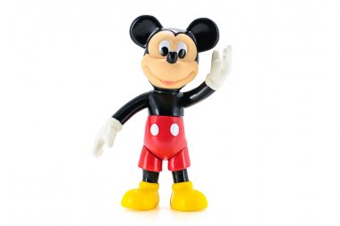 Toddler Mickey Mouse action figure the official mascot of The Wa