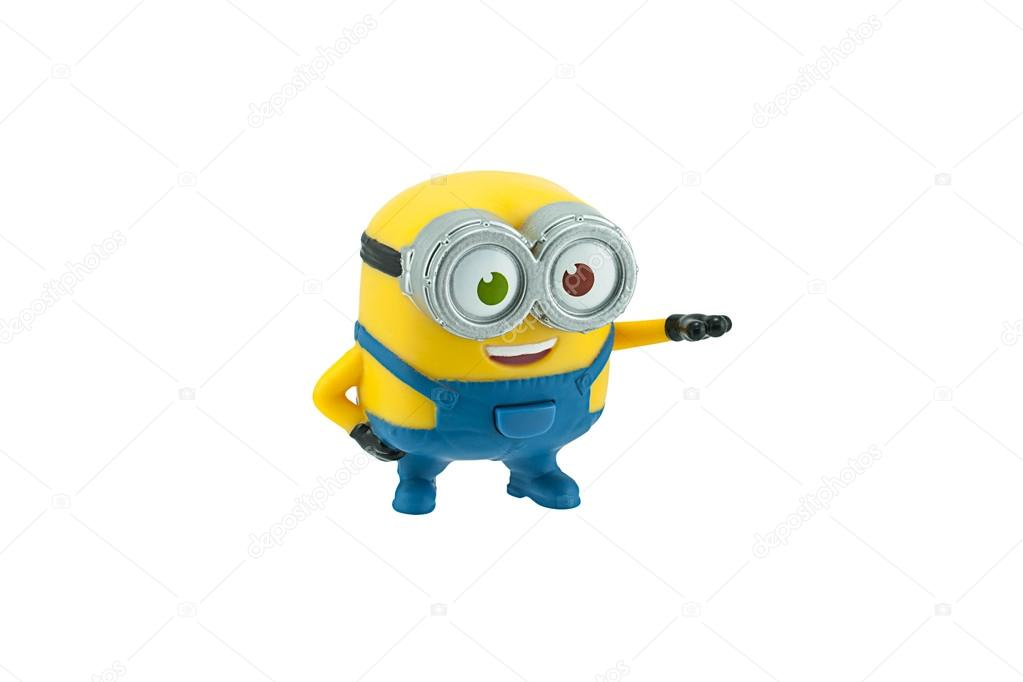 Bob minions toy character