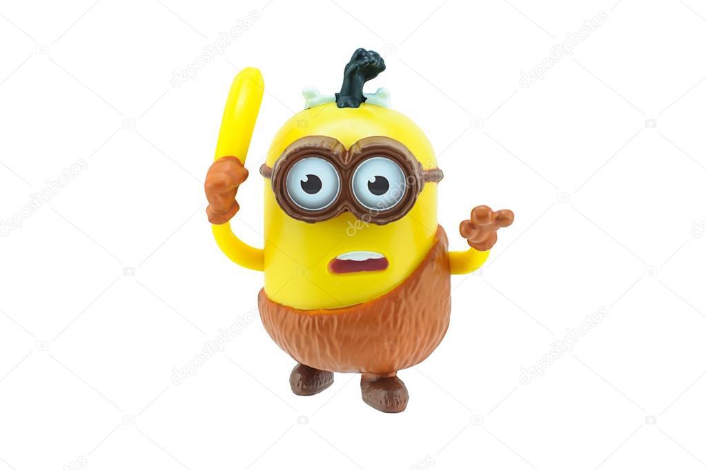 Caveman minions with banana
