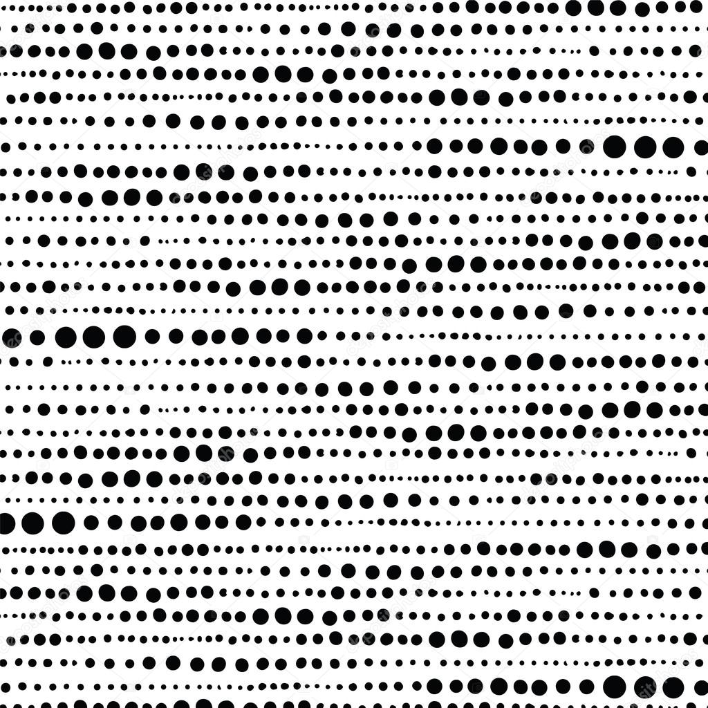 how to draw dot patterns