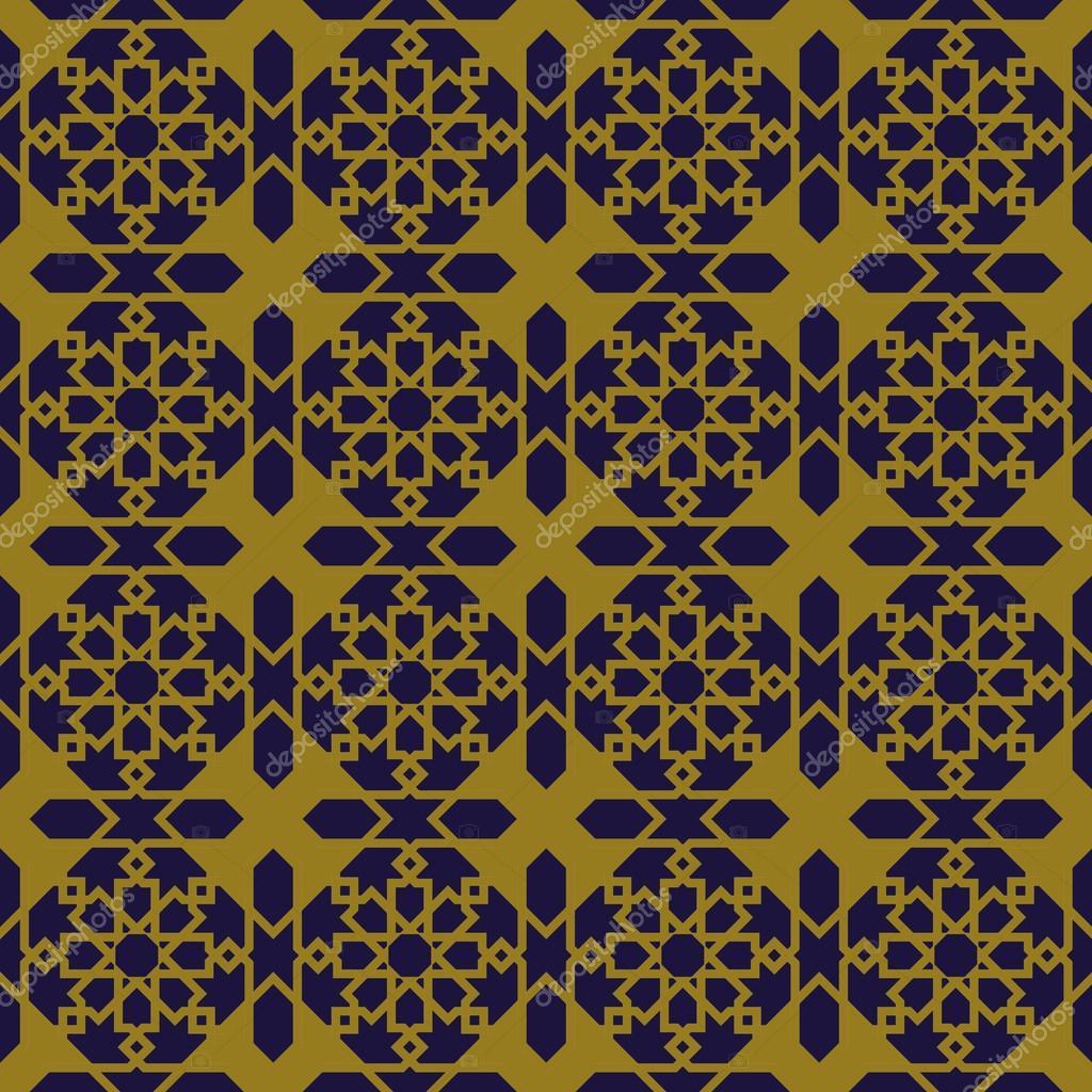 Eleganter Antik Hintergrundbild des Islam Sterne Geometrie Rahmen ...