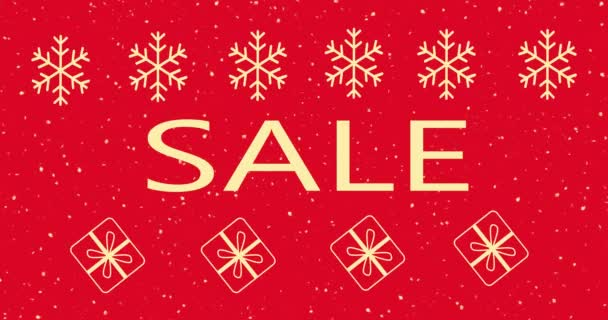 Weihnachtsverkauf Banner Vorlage, druckbare Flyer, rote Farbe, für Werbung,