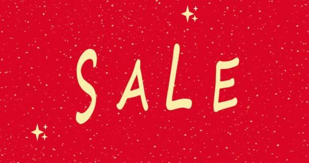 Boldog Karácsonyt eladó, ELADÓ banner sablon, nyomtatható szórólapok, piros szín, reklám, animáció