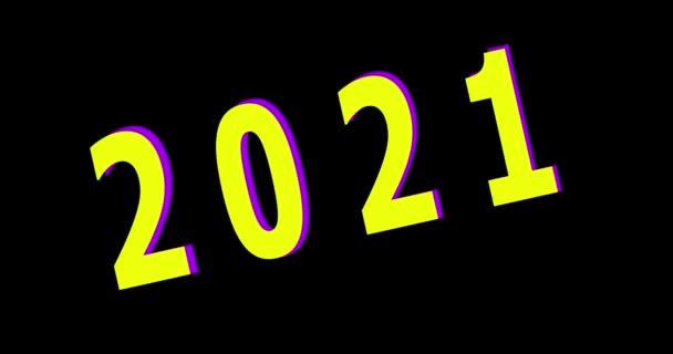 2021 Happy New Year animation
