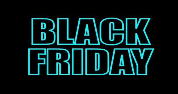 Fekete péntek eladó banner Neon