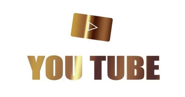 Redakční zlatý knoflík Youtube. Sociální média