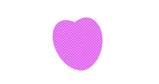 Srdce lásky. Láska. Velikost změny srdce