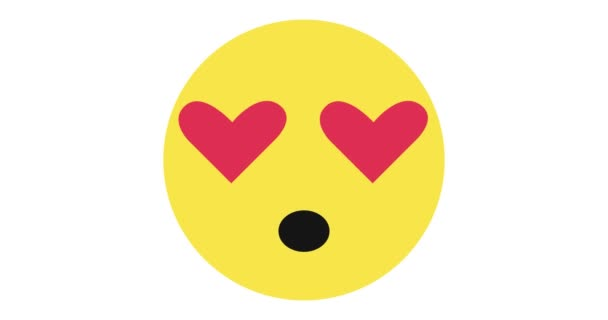 love emoticon face with hearts instead of eyes