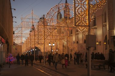 Lights in Moscow