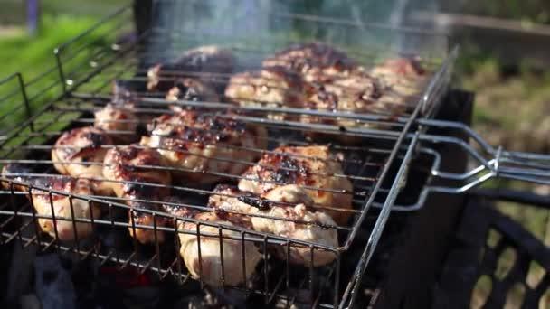 kuře na grilu