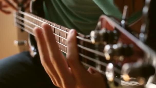 Electrical bass guitar