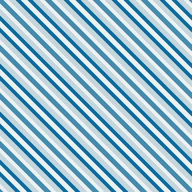 Blue sea diagonal stripes seamless pattern