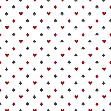 Poker or casino seamless pattern