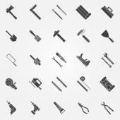 Nástroje pro vektorové ikony nastavit