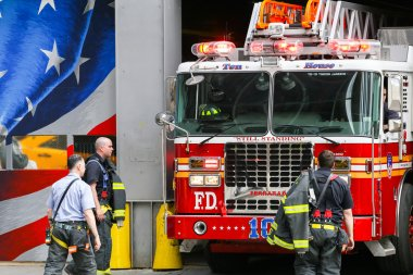 Ten house fire station in NY