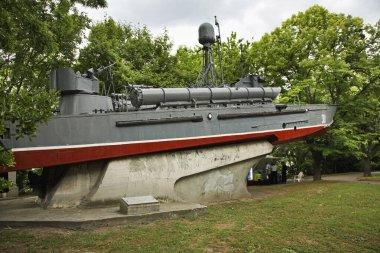 Naval Museum in Varna. Bulgaria