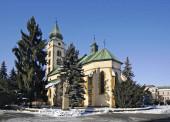 Kostel sv. Mikuláše v Liptovském Mikuláši. Slovensko