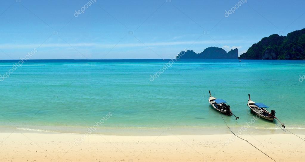 Tropical beach on Koh Phi Phi island, Thailand