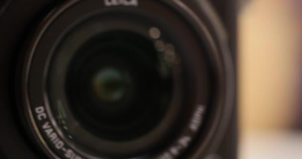 Videokamera lencse Zoom