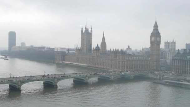 aerial view on london england uk europe