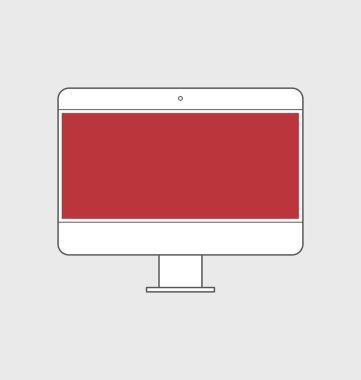 illustration of responsive web design icon