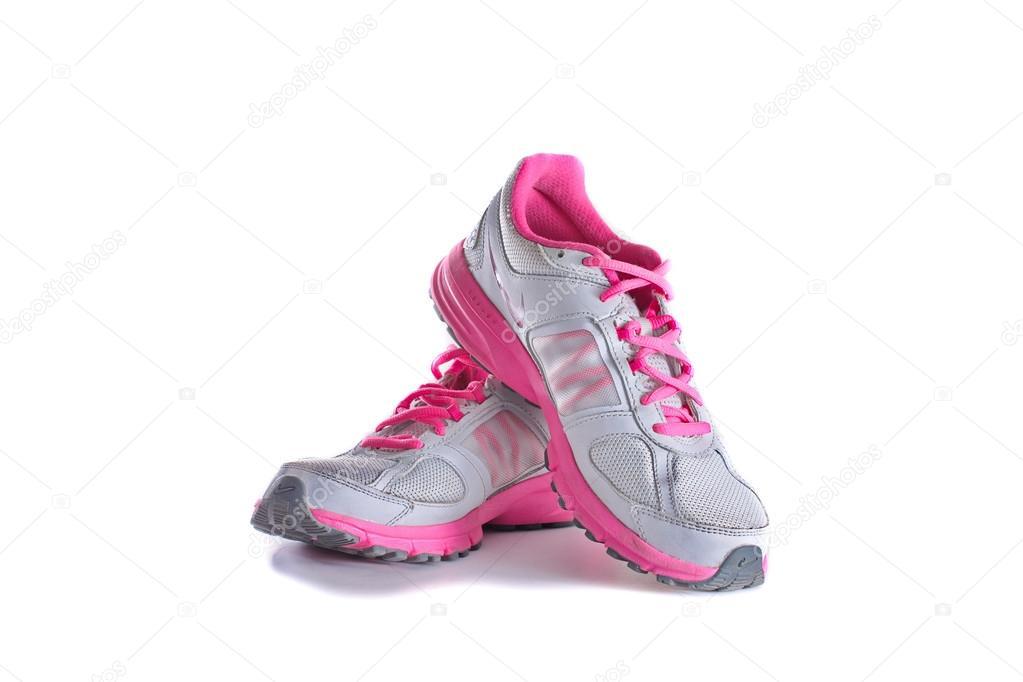 Nike women's pink running shoes - sneakers