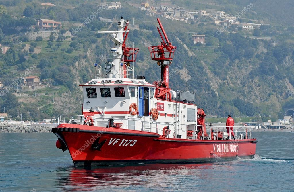 Ship of firefighters