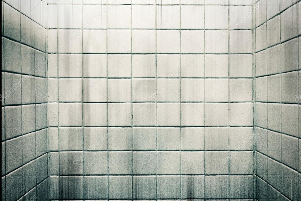 Badkamer Tegels Muur : Vuile korrel witte marmeren tegels muur in badkamer voor