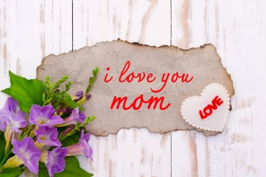 background for greetings for Mother's Day
