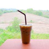ledovou kávu latte