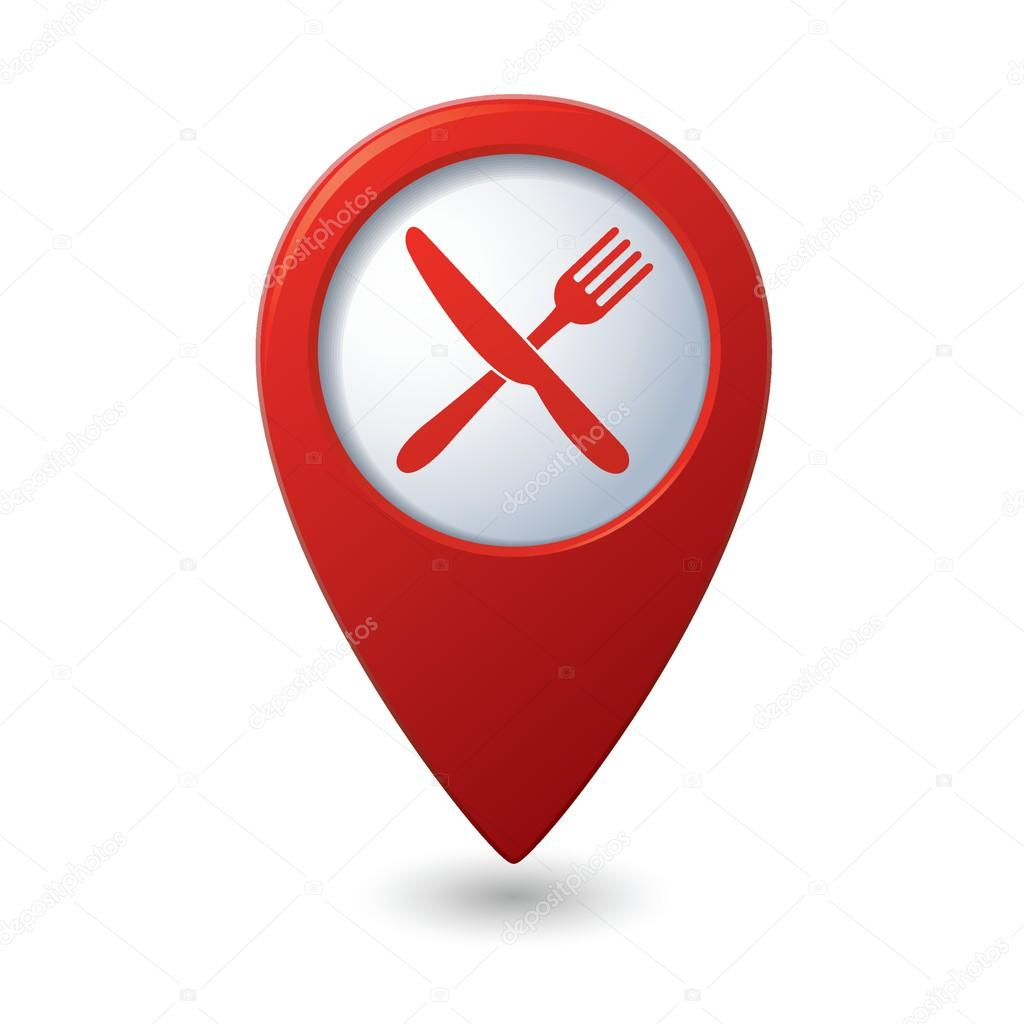 restaurang karta karta pekaren med restaurang ikon — Stock Vektor © ARNICA83 #63910549 restaurang karta