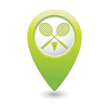 Badminton icon.
