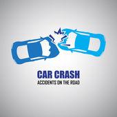 Fényképek autó baleset és balesetek ikonok