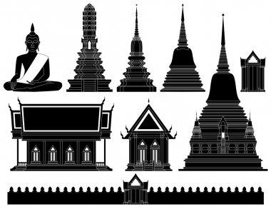Thailand Temple vector