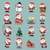Santa záradék karácsonyi beállítása