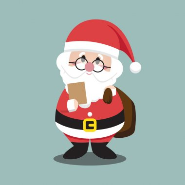 Santa Clauses Reading List for christmas character