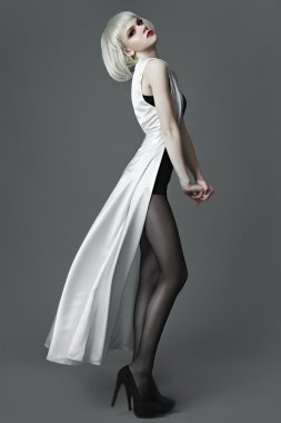 Fashion Model Girl Portrait