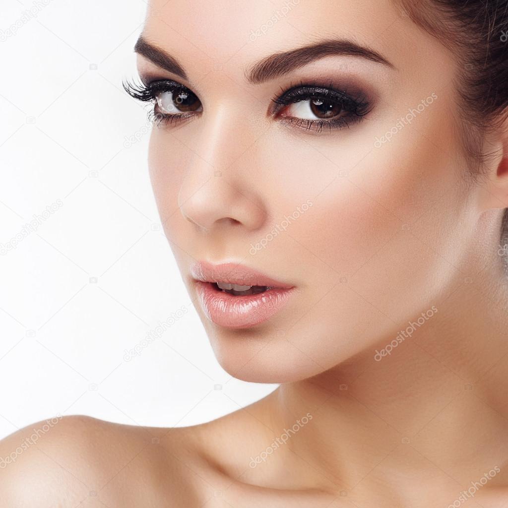 Frau Gesicht: Stockfoto © Yafimik #81989466