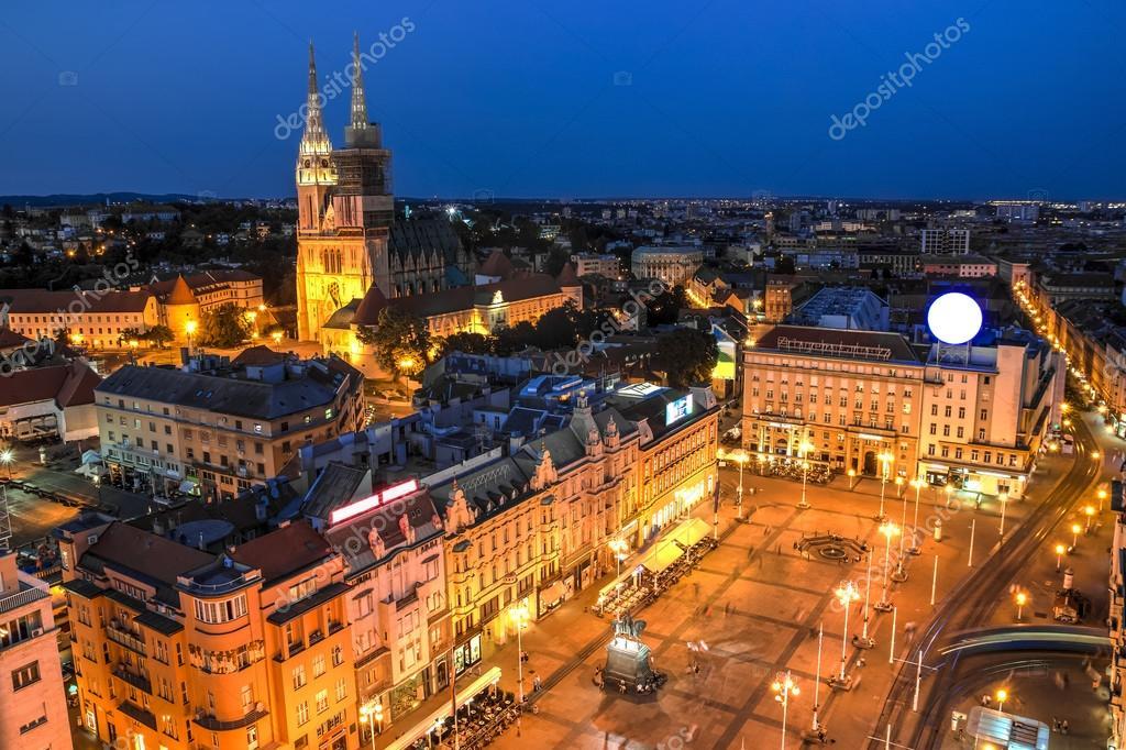 Zagreb La Capital De Croacia Fotos De Stock