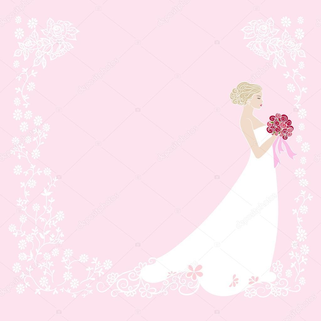 Biglietto Di Auguri Di Matrimonio Vettoriali Stock Lisako66